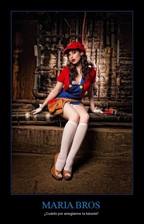 Maria Bros | Cosplay mario, Cosplay para niñas, Disfraz ...