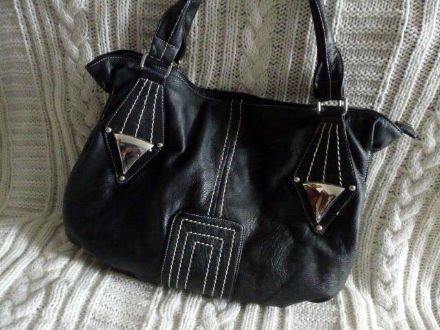 Torebka Biale Przeszycia Super 5432821080 Oficjalne Archiwum Allegro Bags Hobo Fashion