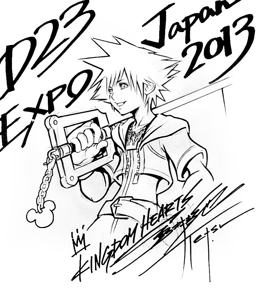 Tetsuya Nomura drawings | Kingdom Hearts | Pinterest | Bocetos de ...