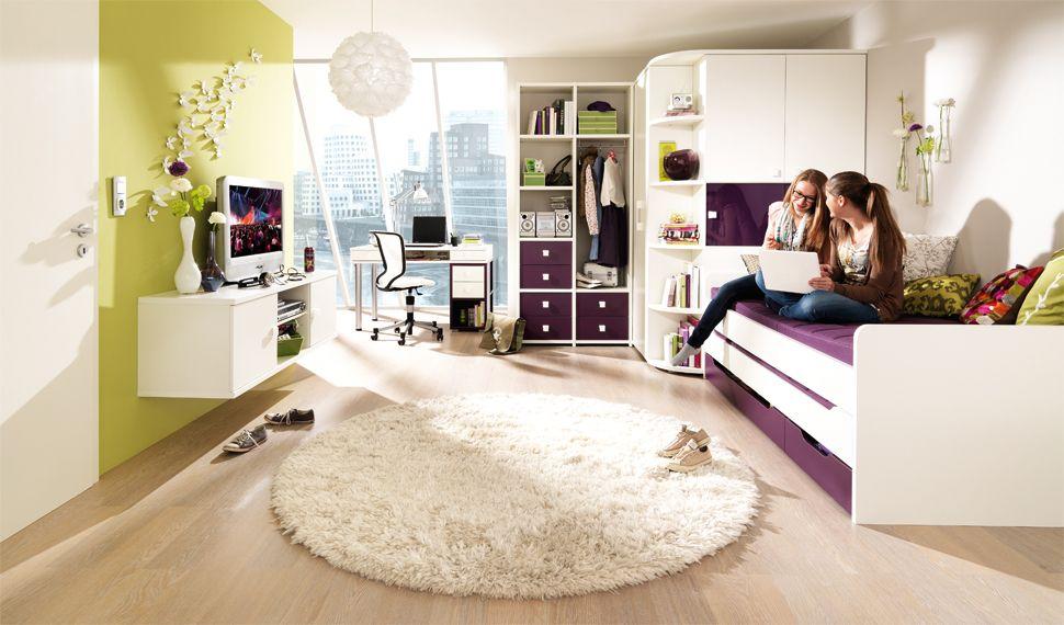 Jugend mädchenzimmer mit begehbaren kleiderschrank  Wellemöbel | Kids Rooms | Pinterest | Jugendzimmer, Kinder zimmer ...