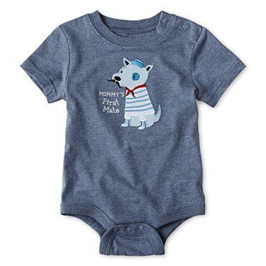 09c9ad53 Joe Fresh™ Boy Short Sleeve Bodysuit - JCPenney | Baby Boy Clothes