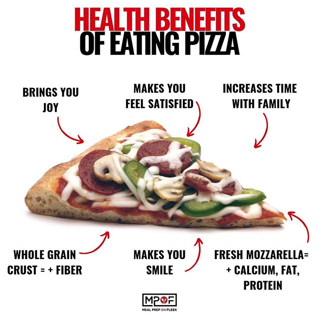 So Here Are The Top 3 Benefits Pizza Provides Pizza Sauce Can Boost Your Immunity The Sauce On A Pizza Is Loaded Wit Meal Prep On Fleek Meals Meal Prep
