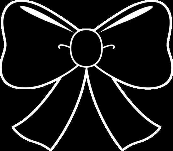 Black Bow Silhouette | Silhouettes, stencils | Pinterest ...