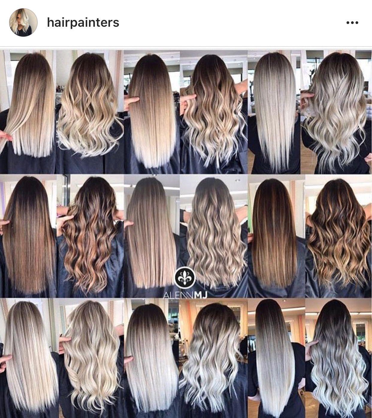 Light Ash Brown With Ash Blonde Balayage Hair Hair Looks