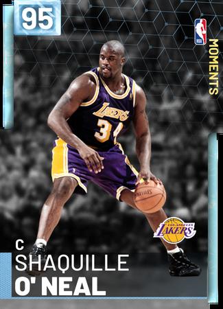 Custom Cards 2kmtcentral Shaquille O Neal Nba Legends Basketball Legends