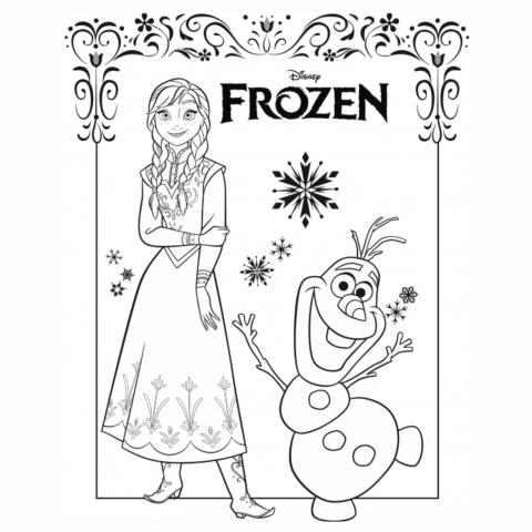 Desenhos Para Colorir Frozen Frozen Para Colorir Desenhos Para