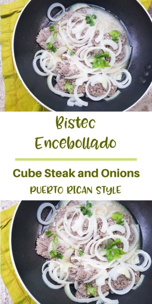 Bistec Encebollado (Cube Steak and Onions)