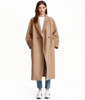 Damen | Jacken & Mäntel | H&M DE | Mantel jacke, Wollmantel