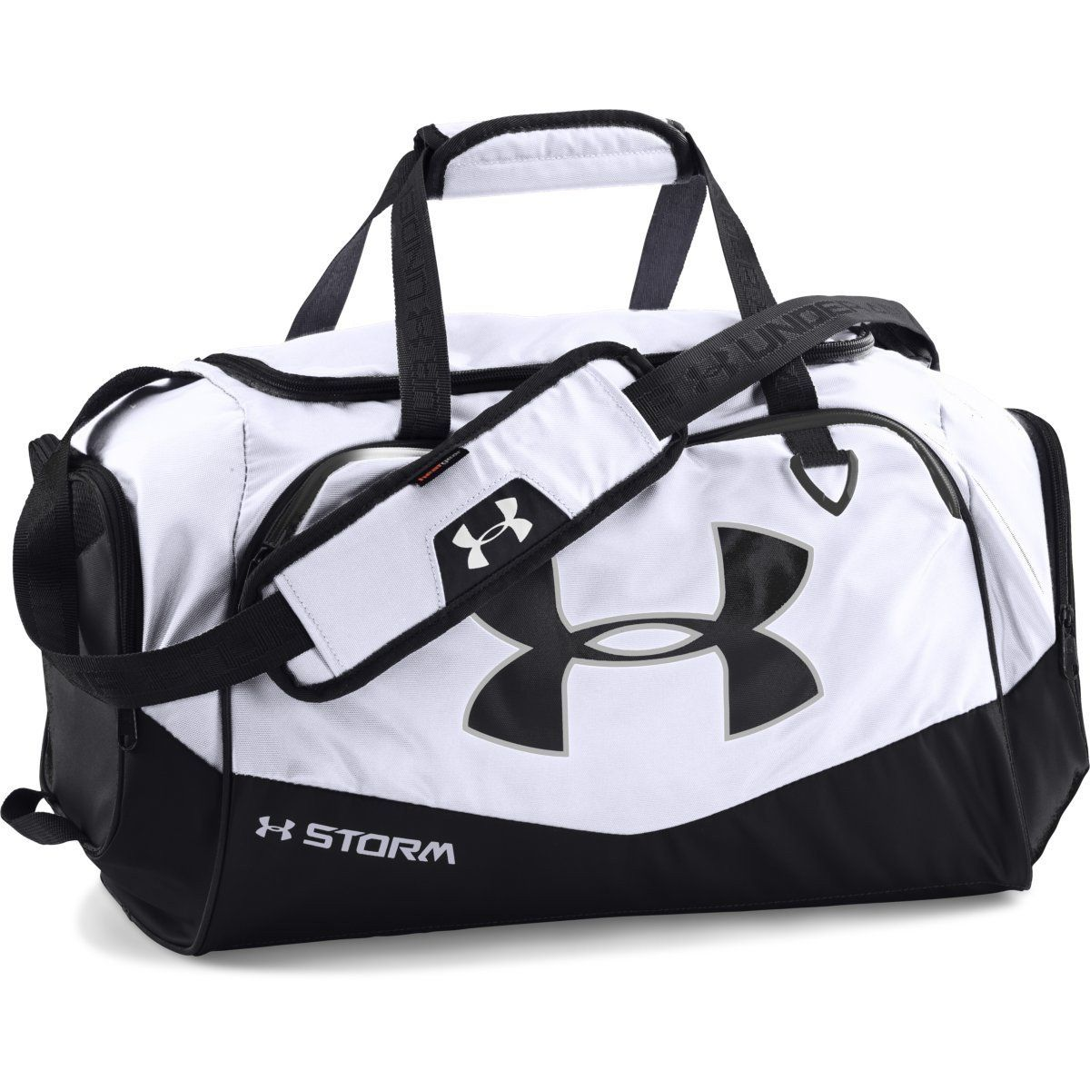 4af818680e37 Under Armour White Black UA Undeniable Small Duffel