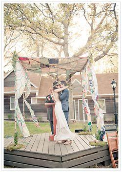 Bohemian wedding. Divine.