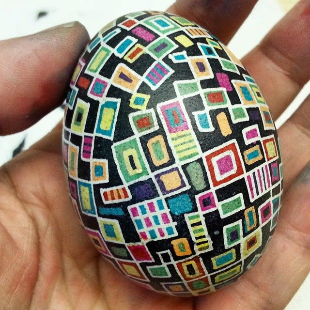 This was the first pysanky egg that I have done in about 10 years.  I can't wait to do some more!