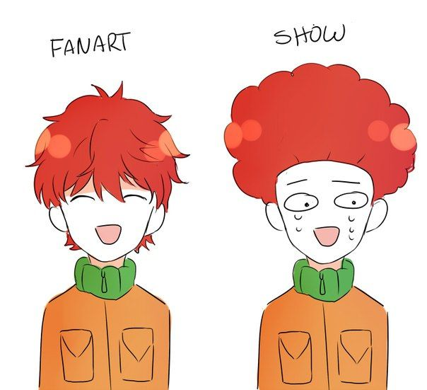 kyle broflovski curly ginger boy tv south park 2 pinterest