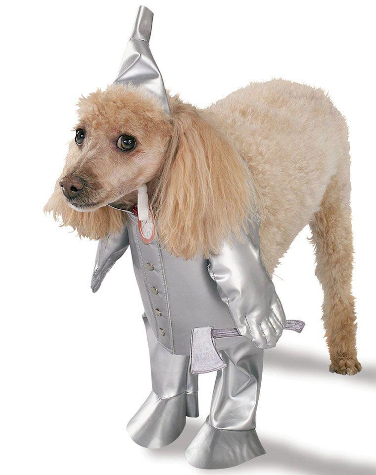 Wizard Of Oz Tin Man Pet Costume 15 Pet Costumes Dog Halloween