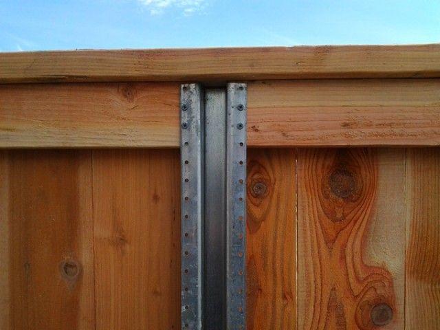 metal fence post driver lowes posts for sale uk brackets wood master model steel