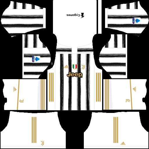 Juventus Kits 2021 Dls Fts Seria A Mobile Game Juventus Soccer Kits Juventus Goalkeeper