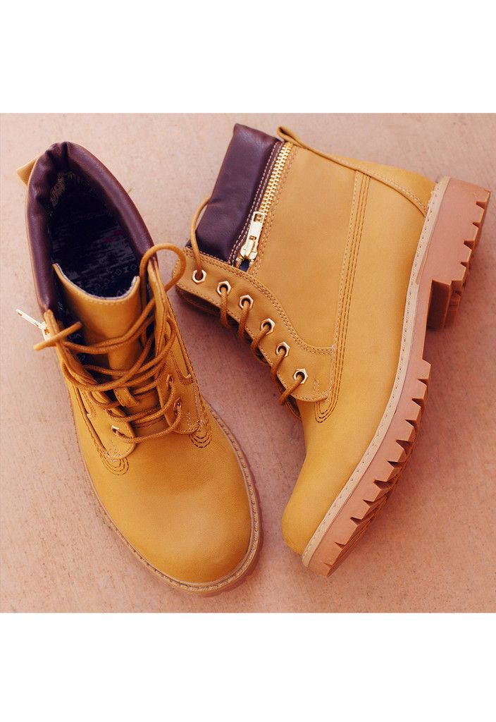 City To City Boots - Tan
