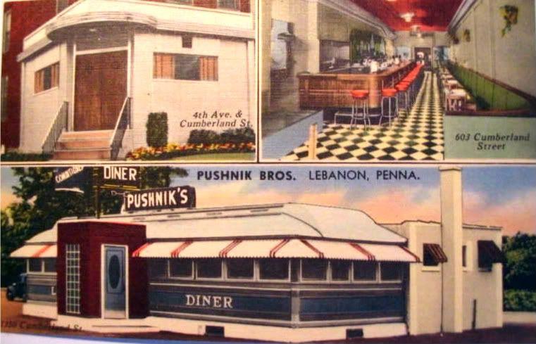 Pushnik's Diner Lebanon PA
