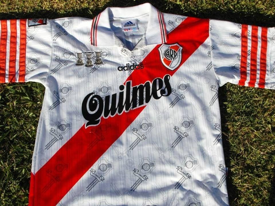 el precio más baratas descubre las últimas tendencias auténtico camiseta river 1996 - 1997 | river campeon | Camisetas ...