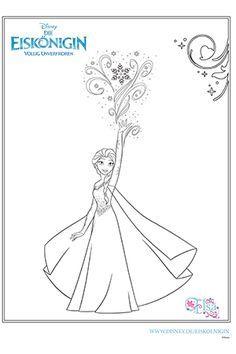 Ausmalbild Elsa Geschenkideen Für Pia Pinterest Elsa