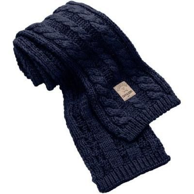 Image result for knitted navy blue scarf