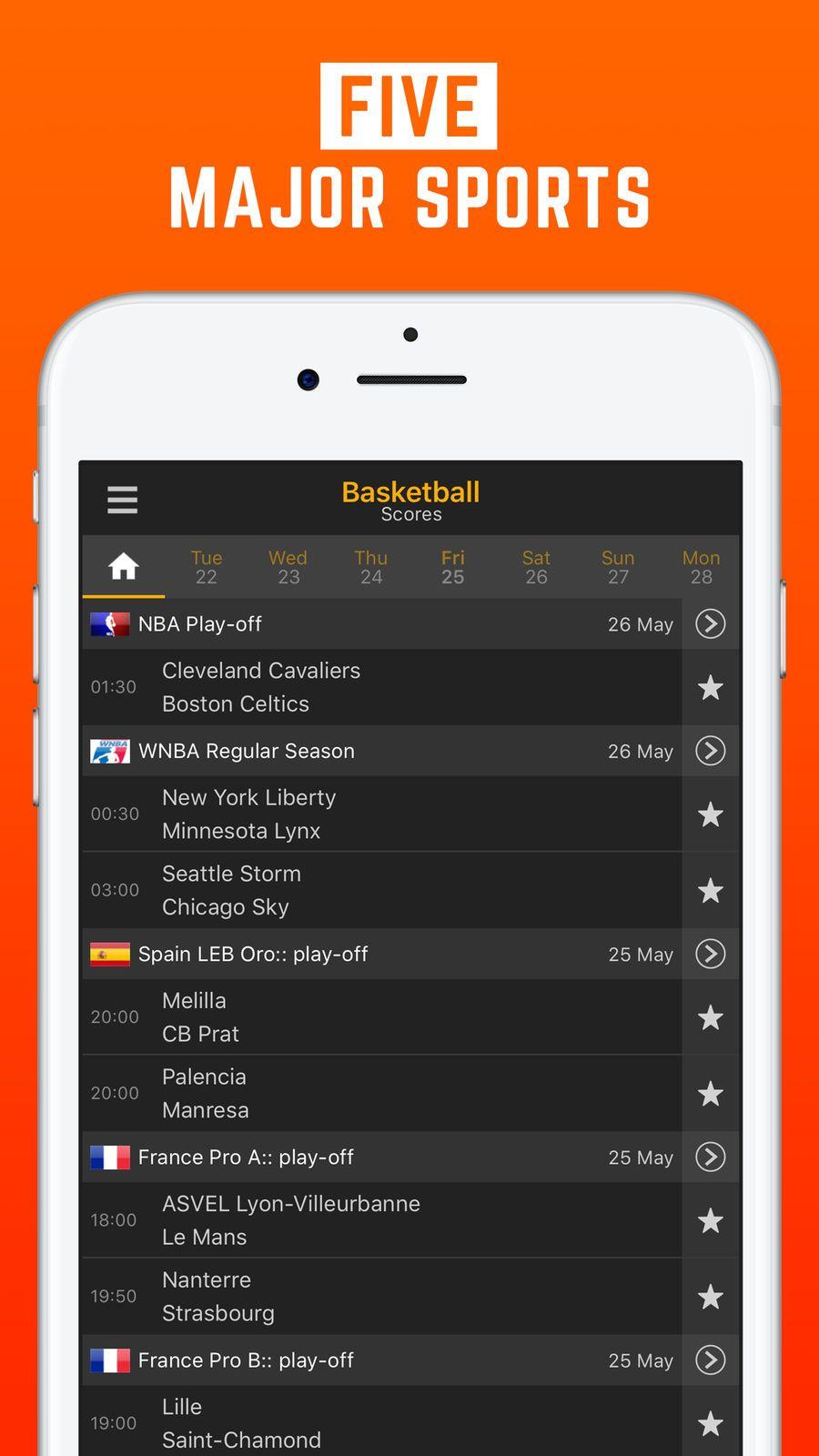 LiveScore Live Sport Updates iosSportsappapps