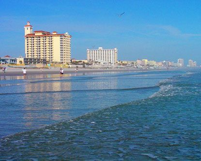 Daytona Beach I Love This Because Its Shallow For A Long Ways Out