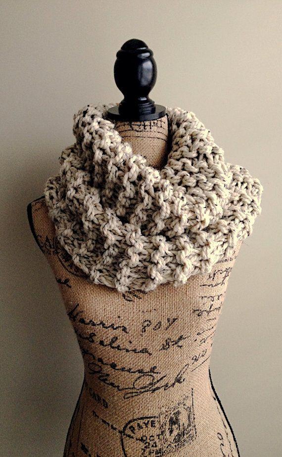 Extra große Outlander inspiriert Cowl chunky Knit von DesignByEJ ...