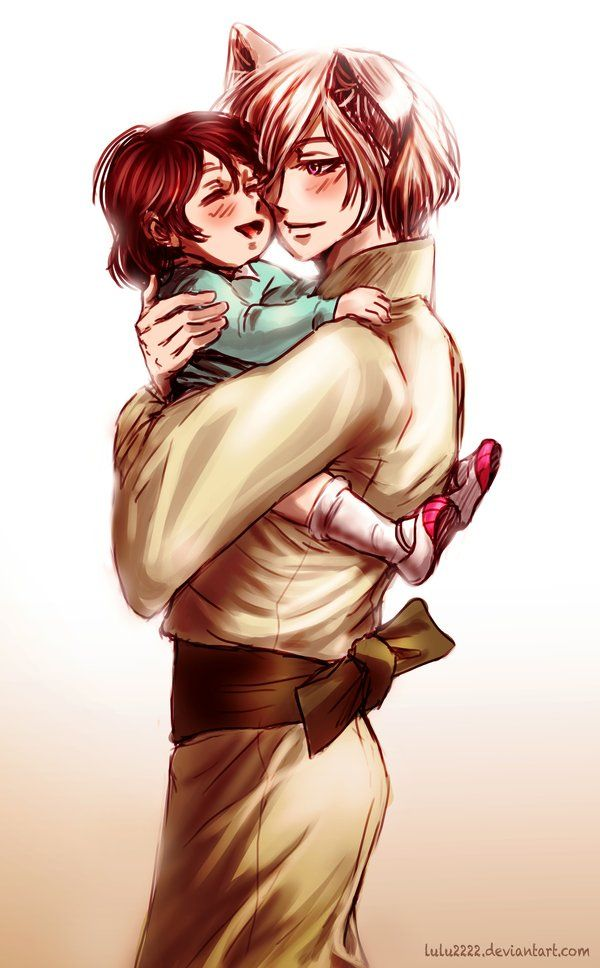Tomoe and Little Nanami: I'll always Love you by *Lulu2222 on deviantART
