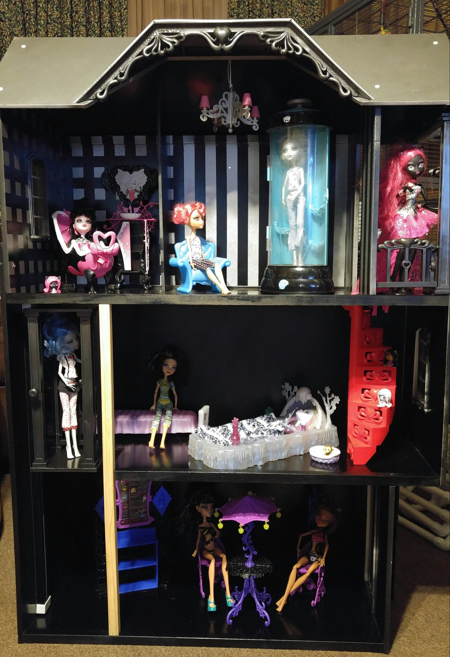 Our Barbie House Makeover Monster High Style Monster High