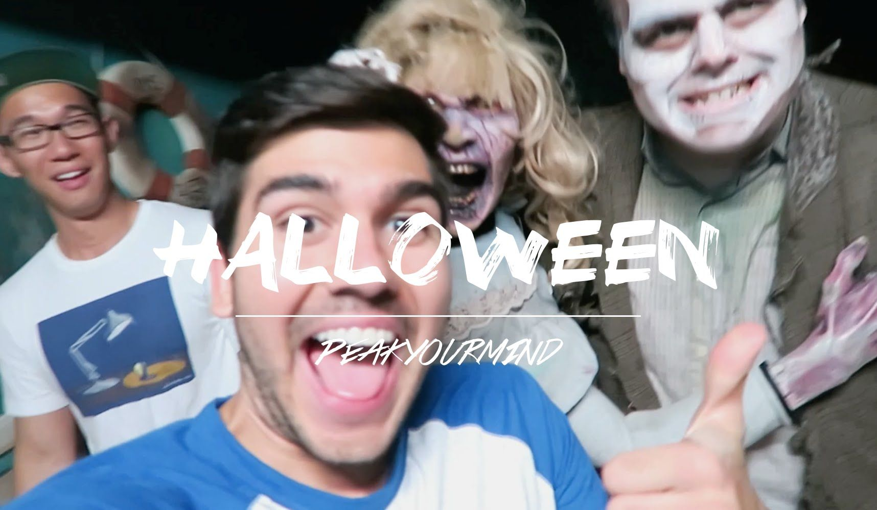 HALLOWEEN SCARE video! To say I didn't scream multiple times at the top of my lungs would be a lie. Enjoy the new halloween episode! :)