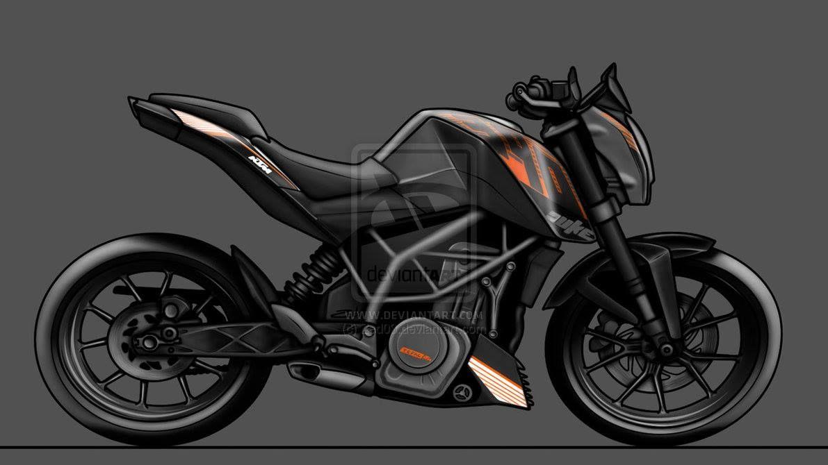 Old KTM Duke 390 vs New KTM Duke 390 https://blog.gaadikey.com/old ...