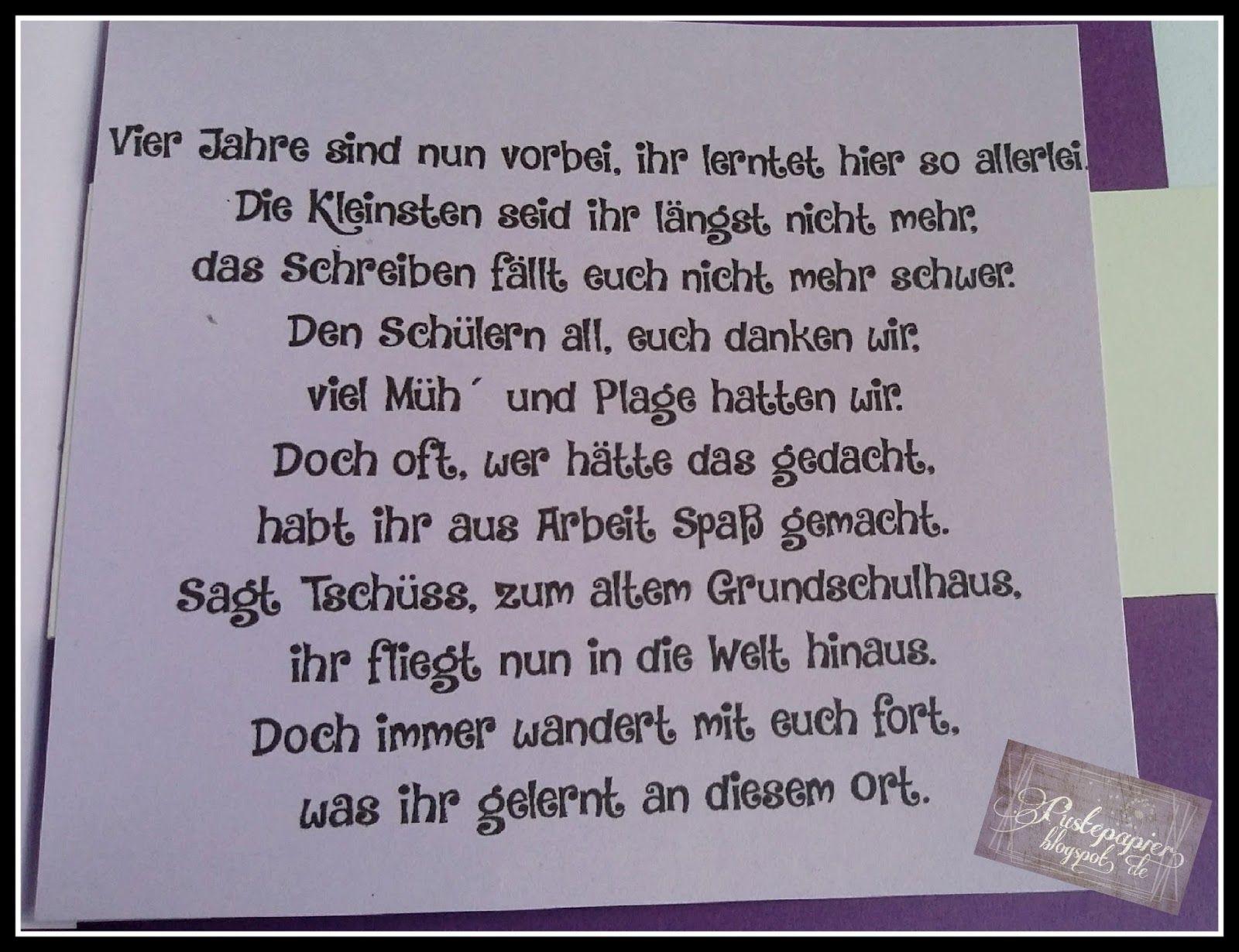 Pin von Anja Schumacher auf Abschied Grundschule  Pinterest