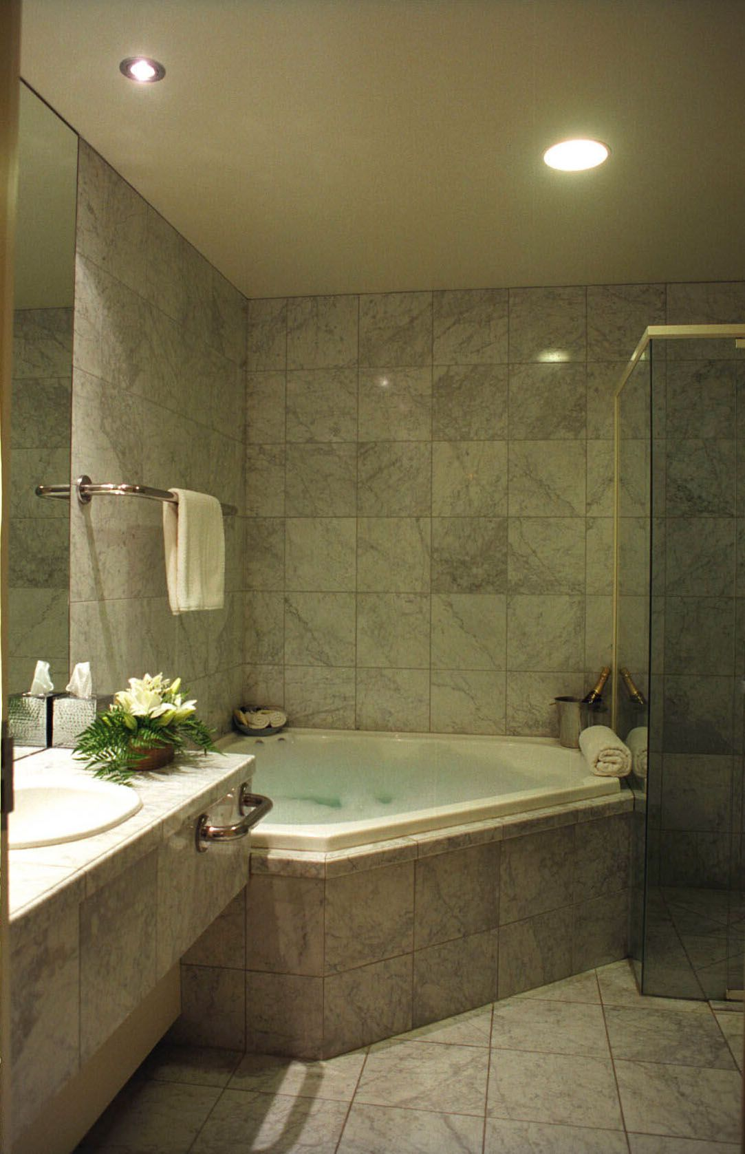 Corner Spa Is So Necessary House Bathroom Bathroom Design