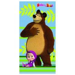 Toalla de Masha y el oso