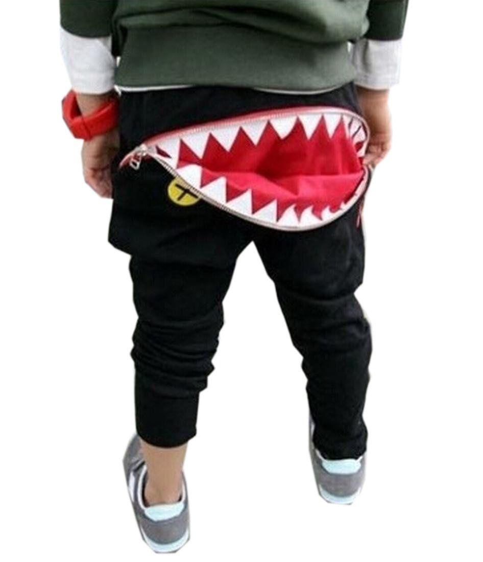 21dd46793ece Lemonmiyu Baby Boy Pants For Newborn Cotton Full Length Spring Autumn Casual  Toddler Trousers Cartoon Loose Elastic Pants | Fashion | Baby pants, ...