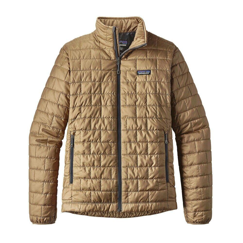 Patagonia nano down jacket khaki Patagonia nano puff