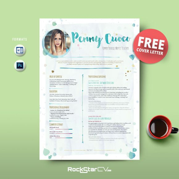 resume template free cover letter