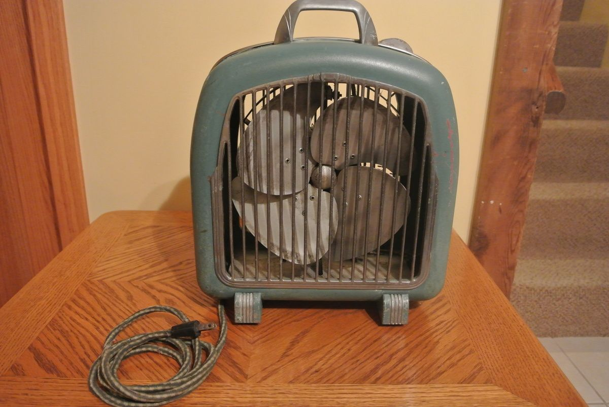 Comfortair Heater Fan Ca 1950 Posting For Mcheconi Collectors