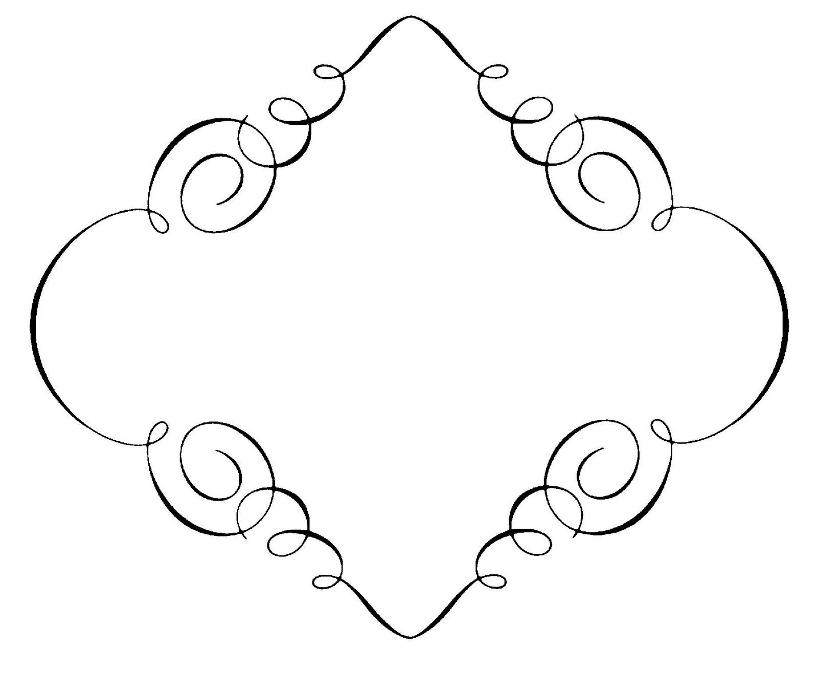 Vintage Frames And Borders Free Clip Art Borders Lines Free Clip Art Clip Art Borders Clip Art Vintage