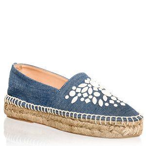 ALPARGATA JEANS COM PEDRAS OFF WHITE · SneakersShoes