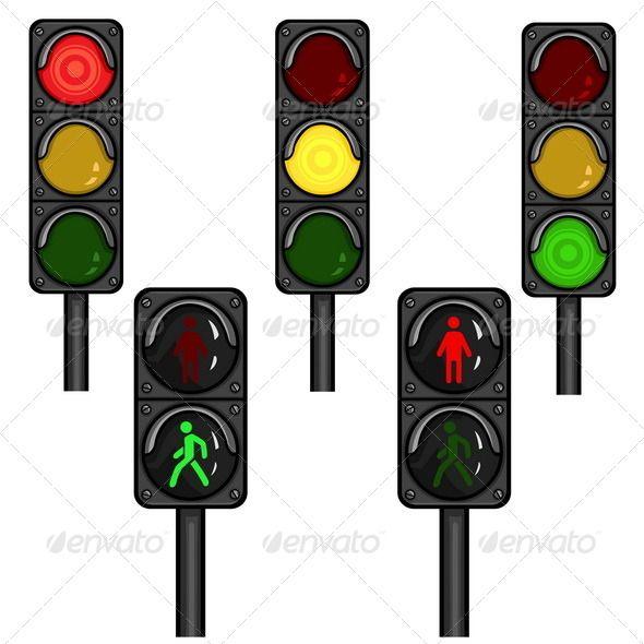 25+ Animated Traffic Light Clipart