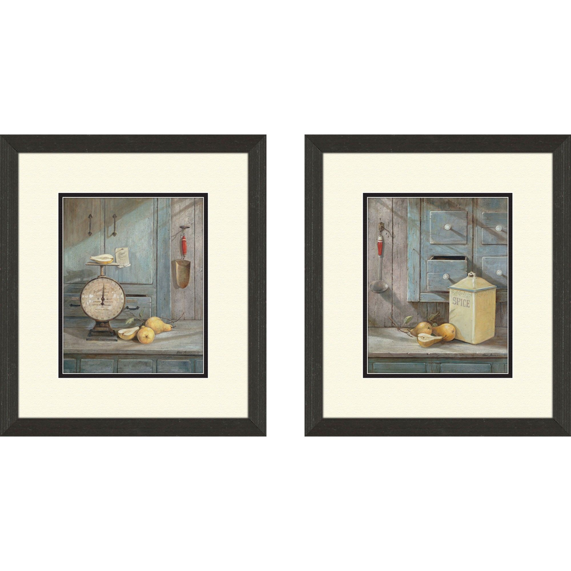 Pro Tour Memorabilia Kitchen Grams Recipe Framed Art (Set Of
