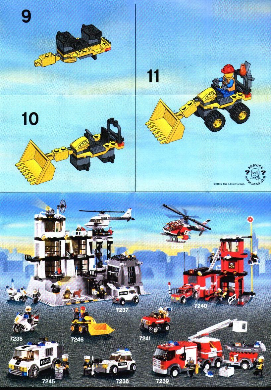 Lego ® recipe//instruction no 7241
