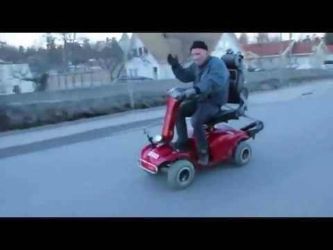 Supercharged Mobility Scooter Funny Things Lawn Mower