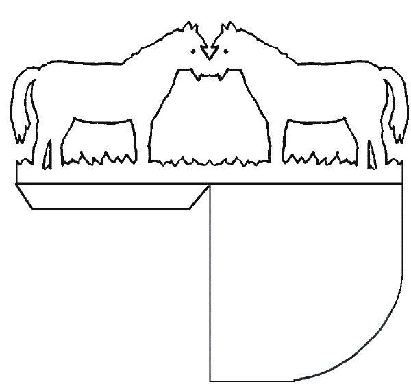 windlichtpferdsw 600×560  horse crafts crafts