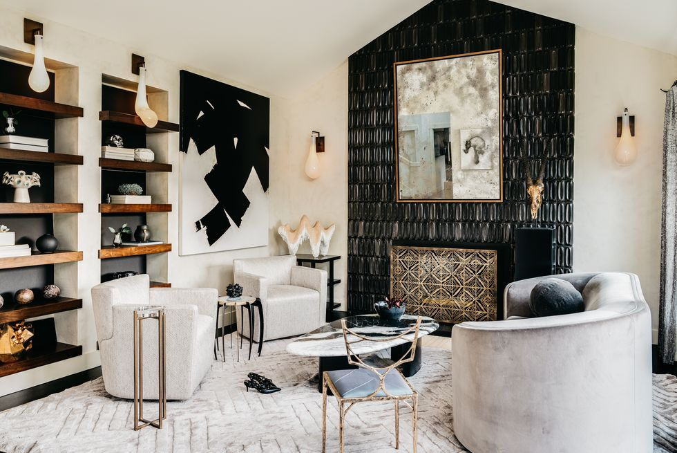 Tour A Bold Home Filled With An Enviable Contemporary Art Collection Modern Furniture Living Room Luxury Living Room Stylish Living Room