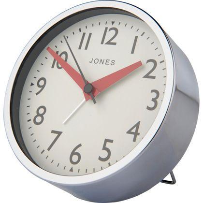 Jones By Newgate Large Tibbet Alarm Clock At Homebase Clock