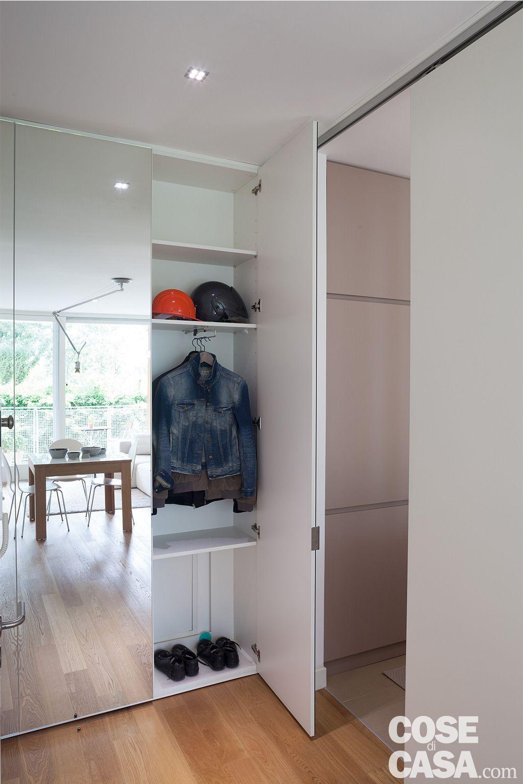 Mobile Lavabo Piu Lavatrice 52 mq: una casa che sembra più grande! | arredamento interni