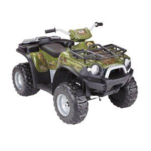 Fisher Price Brute Force Camo Battery Operated Atv Riding Toy 419