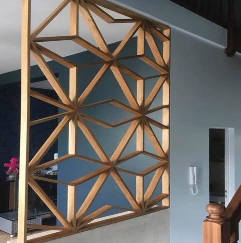 Claustra d'intérieur: sélection de 30 modèles pour votre maison